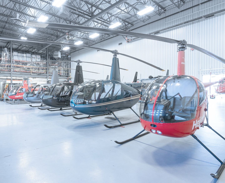 G2 Aviation | Nos services | Entreposage d'hélicoptères