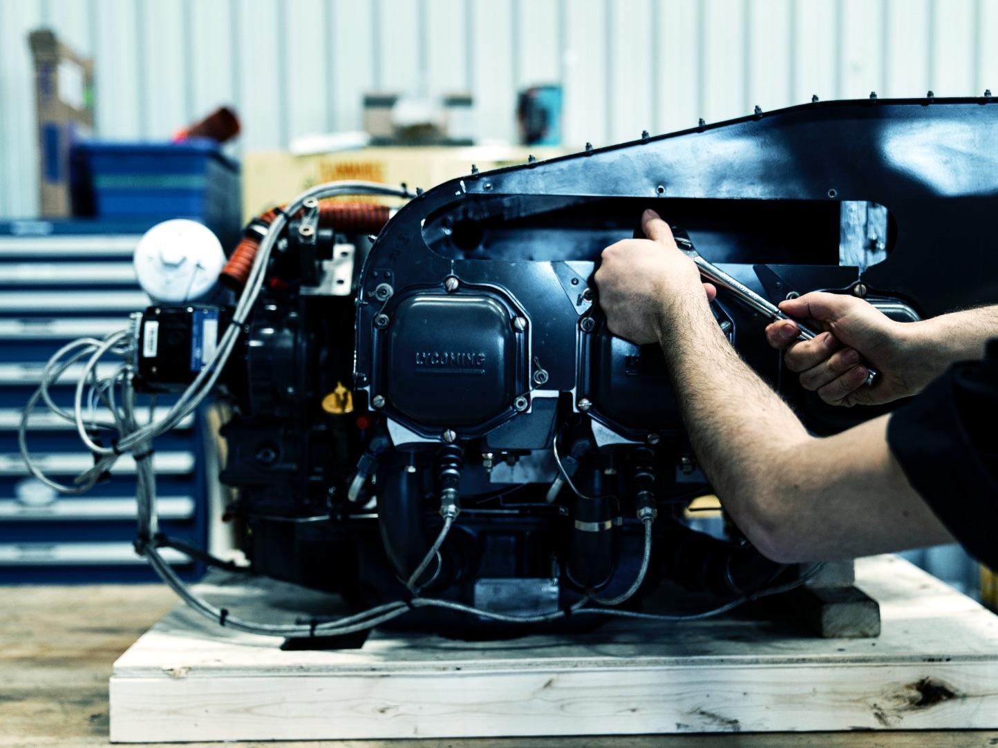 Entretien et réparation hélicoptère